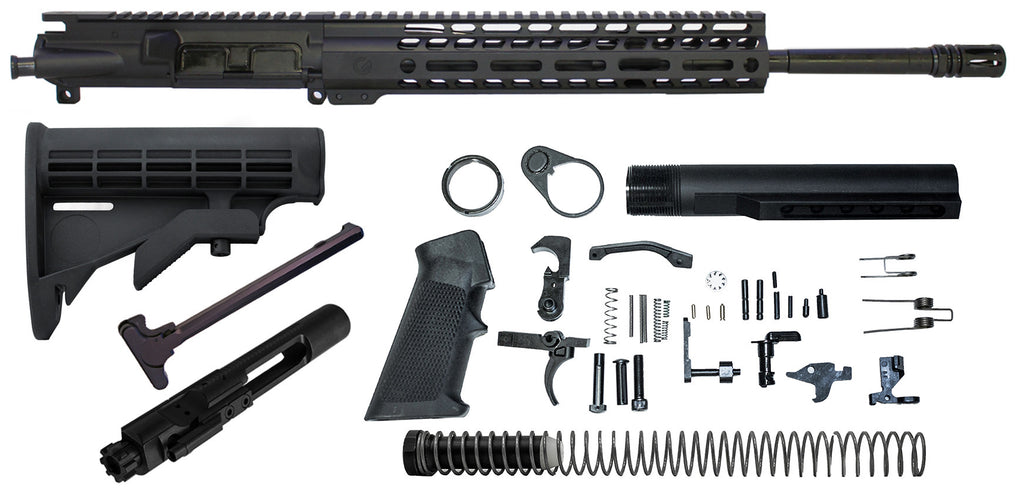 "Ghost Vital 16"" .300 Blackout Rifle Build Kit With Nickel Boron lower parts kit"