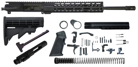 "Ghost Vital 16"" 5.56 Rifle Build Kit With Nickel Boron Lower Parts kit"