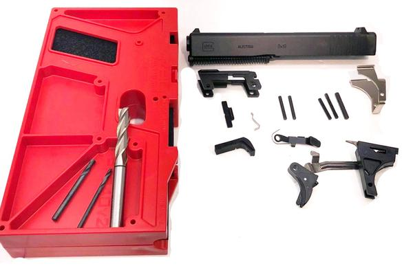Glock 17 Full Size 9mm Build Kit with Polymer80 80% Lower