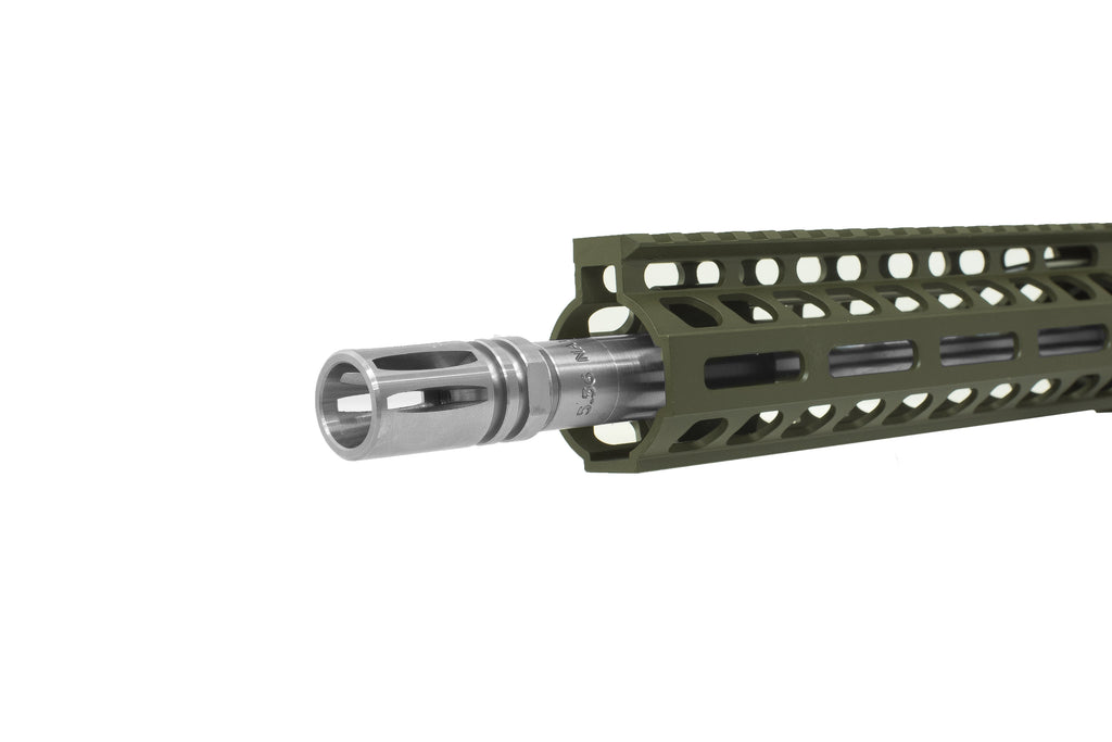 "Ghost Elite 10.5"" 5.56 Nato OD Green w/ Stainless Steel Upgrade & Nickel Boron BCG"