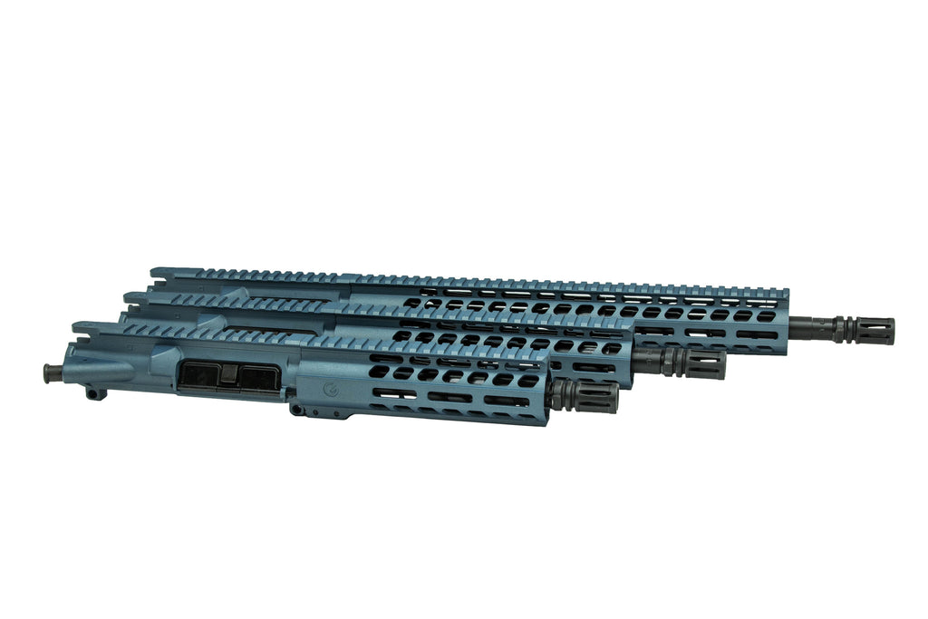 "Ghost Elite 16"" Upper 5.56 Nato Blue Titanium"