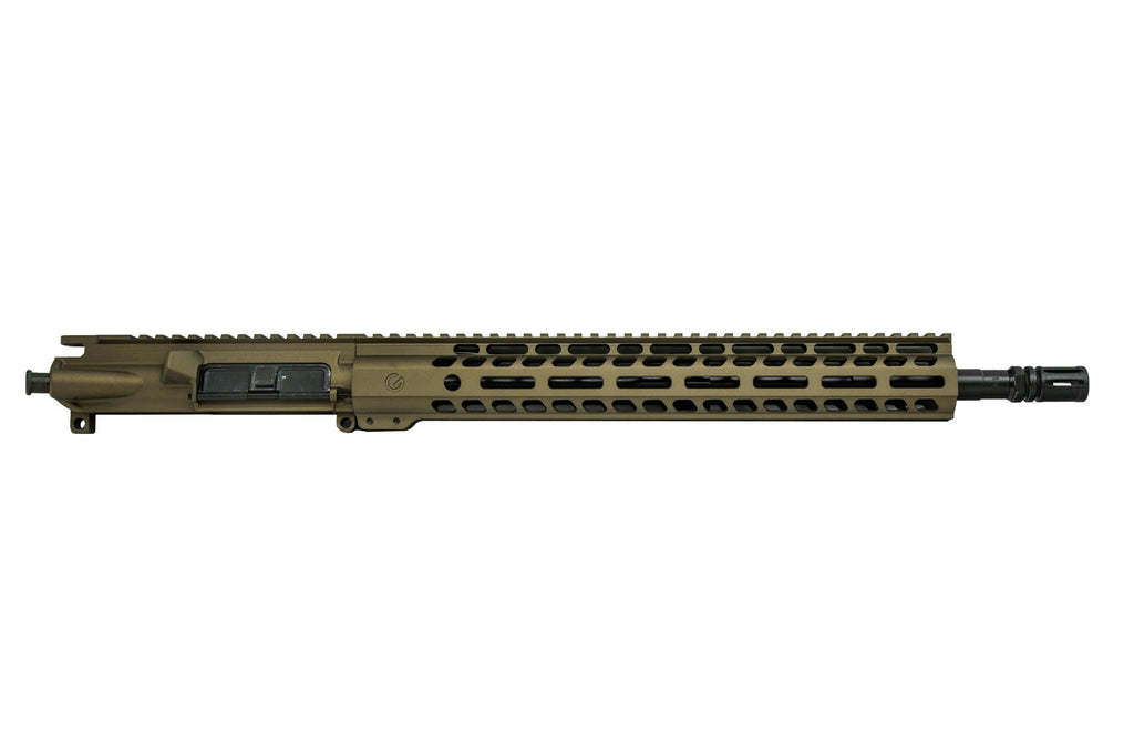 "Ghost Elite 16"" Upper .300 Blackout Burnt Bronze"