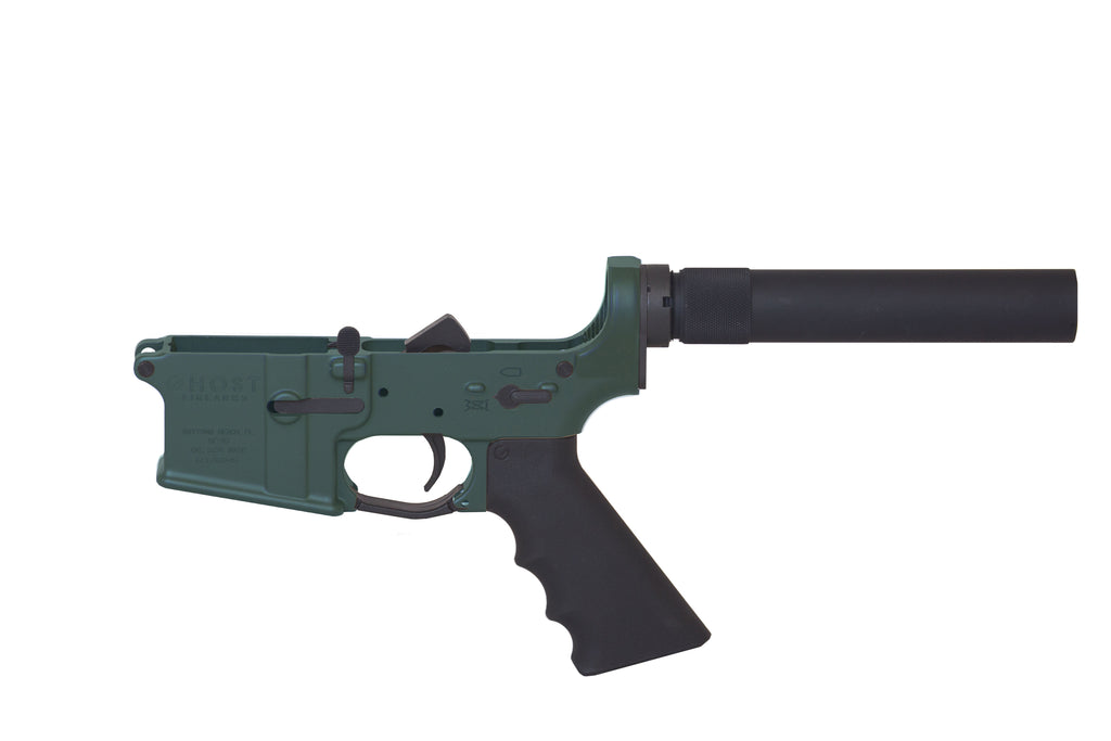 Ghost Complete Pistol Lower Receiver - OD Green