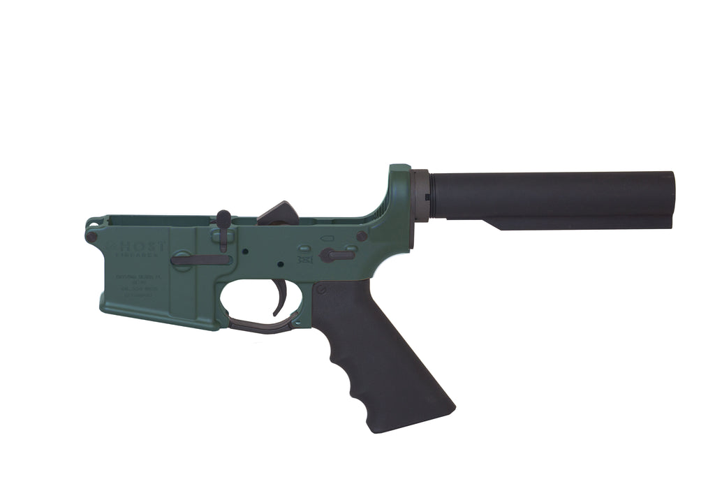 Ghost Complete Rifle Lower Receiver - OD Green