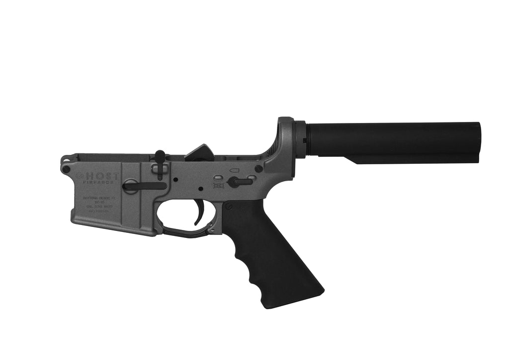 Ghost Complete Rifle Lower Receiver - Tungsten Grey