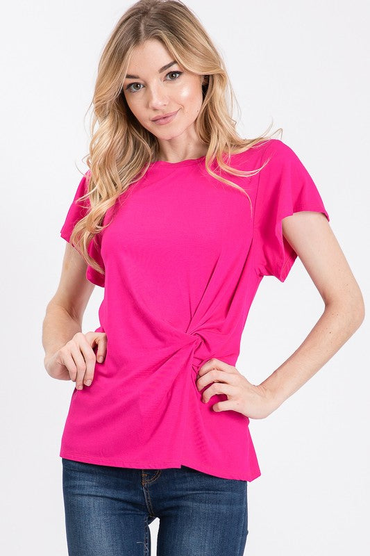 Penelope Knot Top