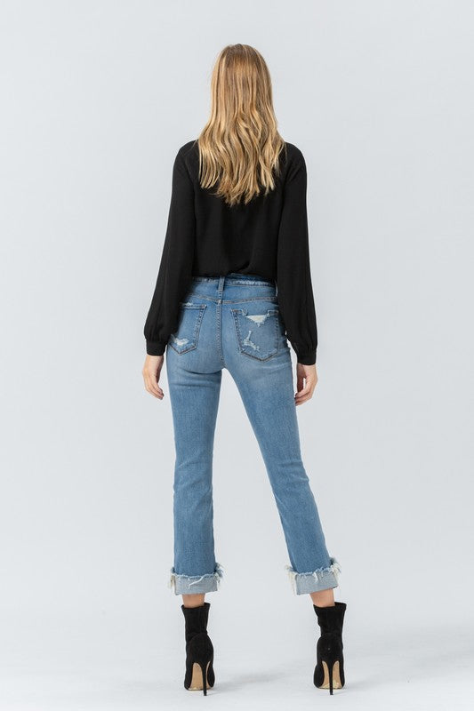Donna Distressed Jeans