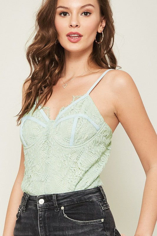 Doris Bodysuit - Mint