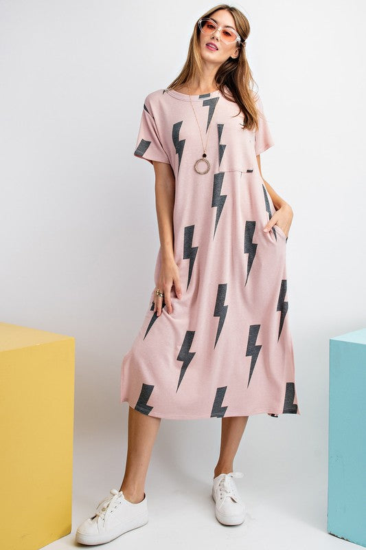 Harry Lightning Bolt Dress