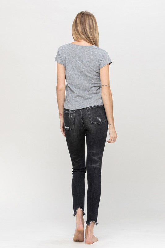 Allie Distressed Skinny Jeans