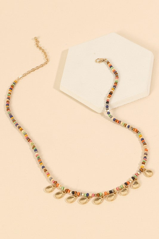 Catalina Beaded Necklace