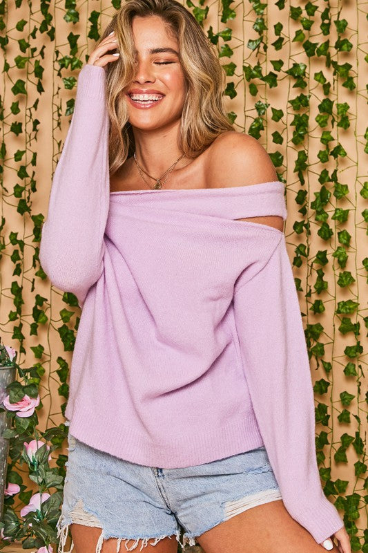 Positions Convertible Sweater