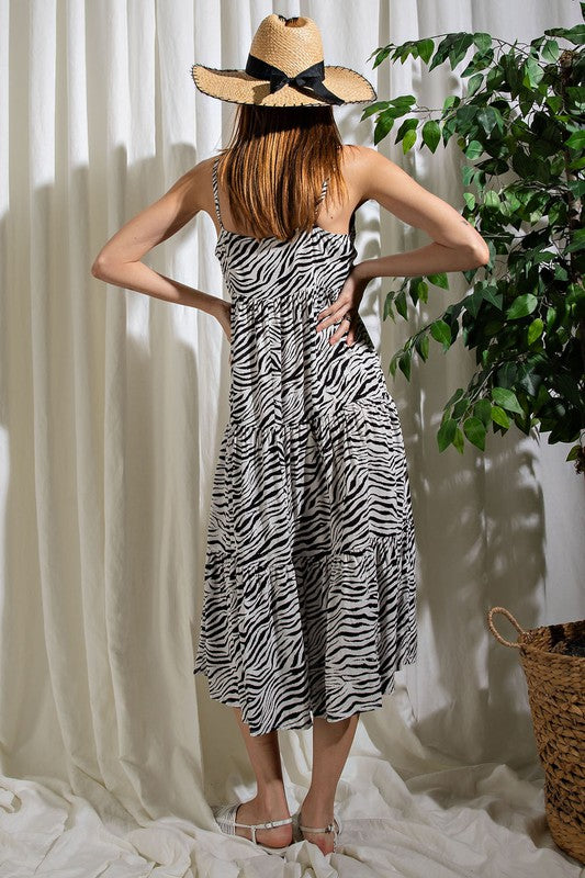 Wild Thing Zebra Print Dress