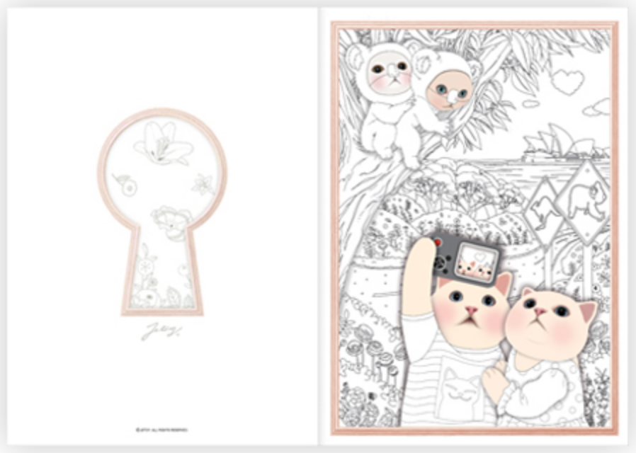 Colorful Jetoy Coloring Book Second Edition