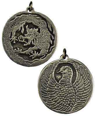 Dragon and Phoenix amulet - House Of Aton