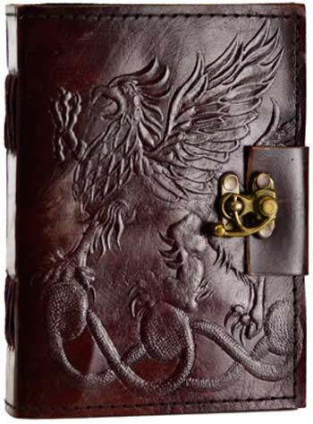 Gryphon leather with latch - House Of Aton