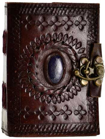 Stone Eye leather with latch - House Of Aton