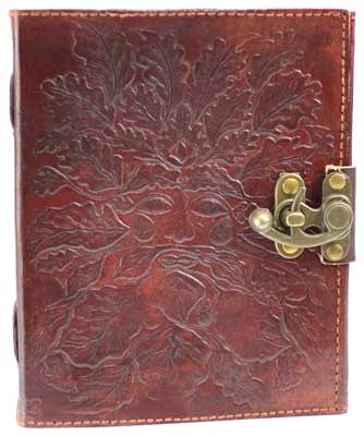 Greenman leather with latch - House Of Aton