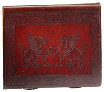 Griffins leather with latch - House Of Aton