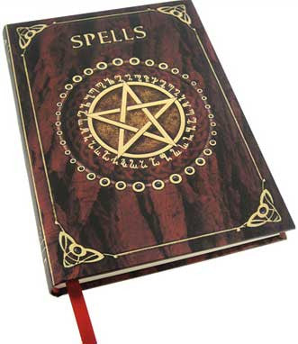 Spell Book Red Journal - House Of Aton