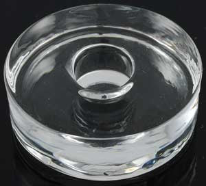 Glass Round Chime Holder - House Of Aton