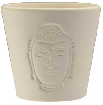 Buddha Shadow Votive Candle - House Of Aton