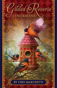 Gilded Reverie Lenormand - House Of Aton