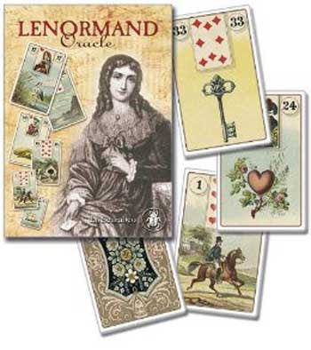 Lenormand Oracle cards - House Of Aton