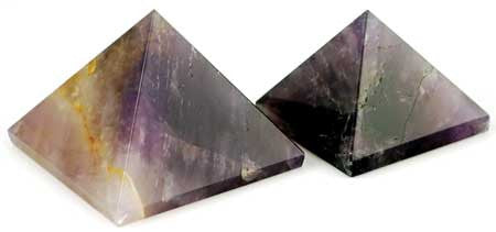 35mm Amethyst pyramid - House Of Aton