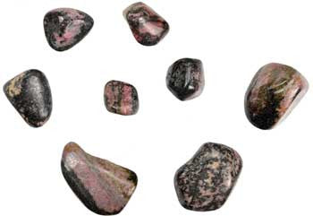 1 lb Rhodonite tumbled - House Of Aton