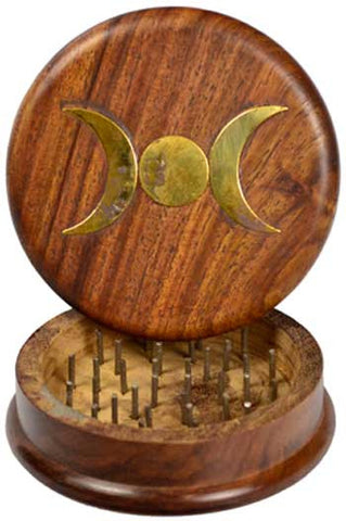 "Triple Moon Herb Grinder 3"" - House Of Aton"