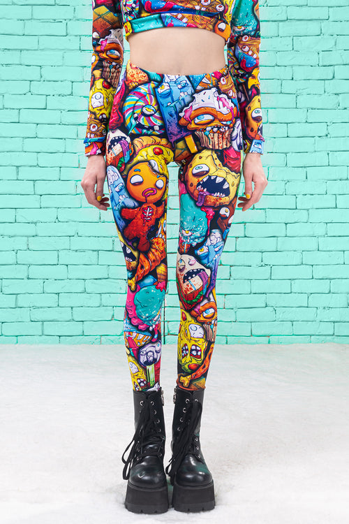 JUNK APOCALYPSE  WARM LEGGINGS