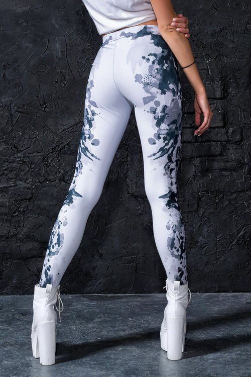 Rorschach Mask Leggings