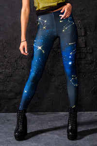 Zodiac Leggings Leggings >> BADINKA