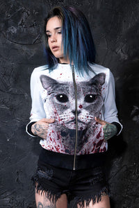Bloodlust Kitty Bomber BOMBER >> BADINKA