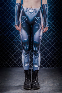 A.I. Android Leggings Leggings >> BADINKA