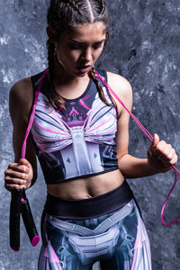 MECHANICAL ACTIVE TOP MAGENTA Active Top >> BADINKA