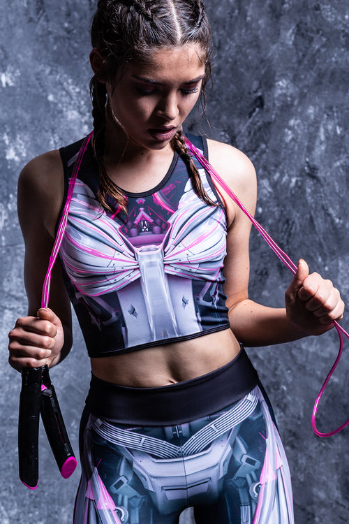 MECHANICAL ACTIVE TOP MAGENTA