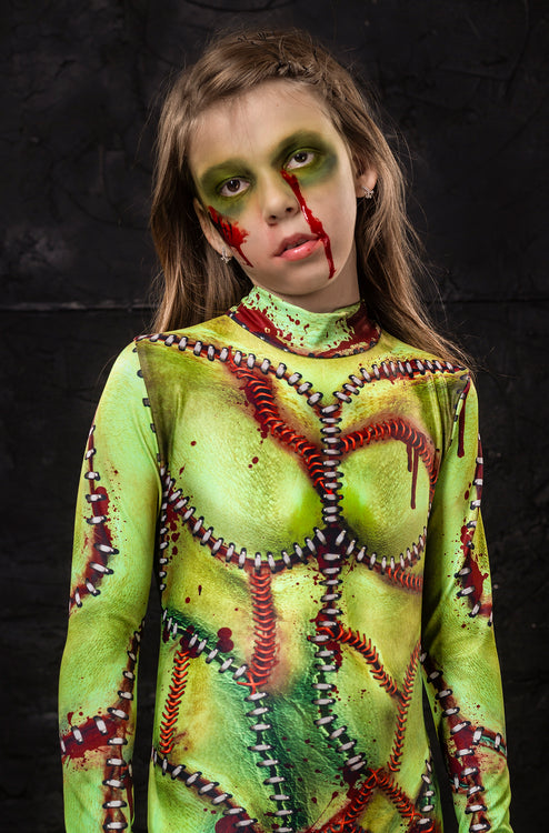 Girl's Frankenstein Bride Costume