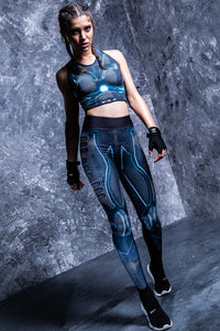 RIOT ROBOT HW LEGGINGS High Waist Leggings >> BADINKA