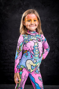 Girls' Kawaii Zombie Costume Bodysuit >> BADINKA