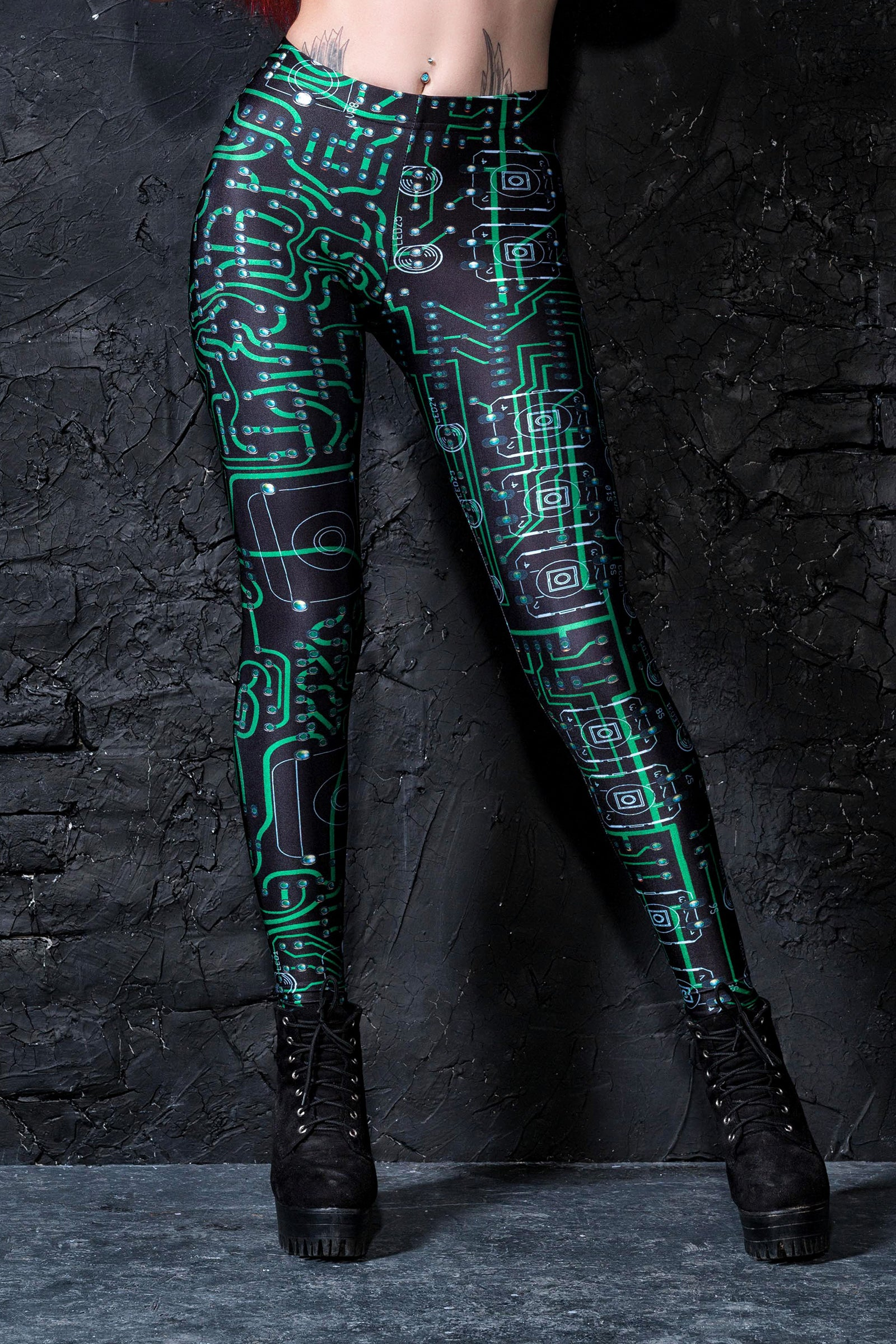 Circuit Leggings Leggings >> BADINKA
