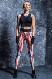 STRENGTH HW LEGGINGS High Waist Leggings >> BADINKA