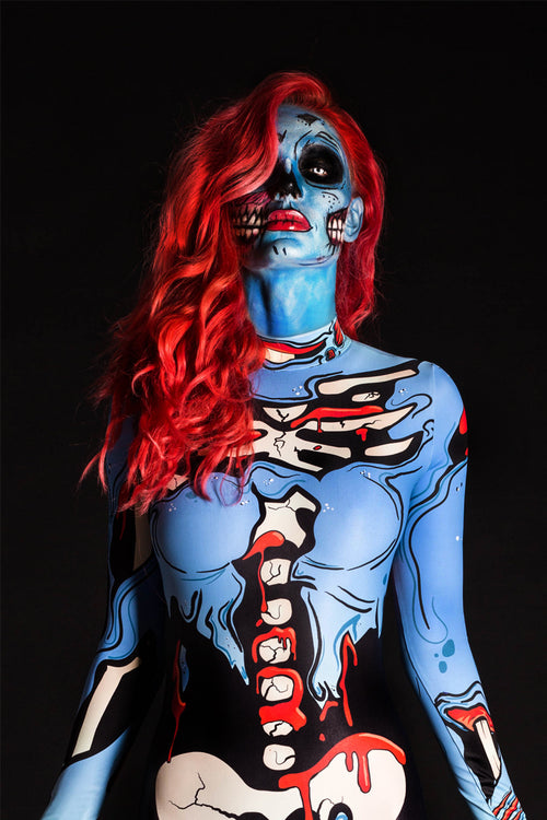 Blue Pop Art Costume