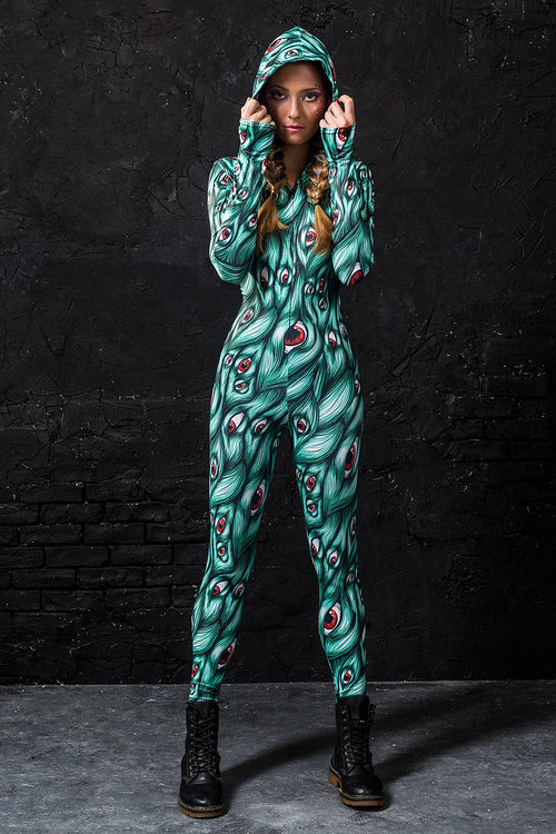 I SEE YOU GREEN FIT ONESIE