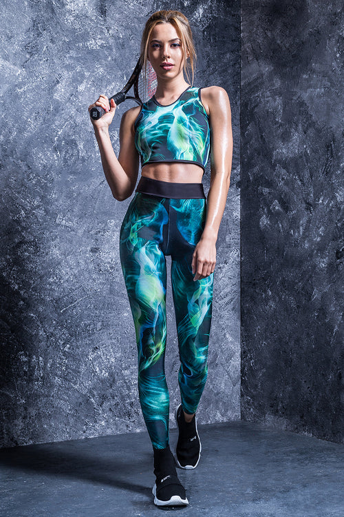 GREEN FOG HW LEGGINGS