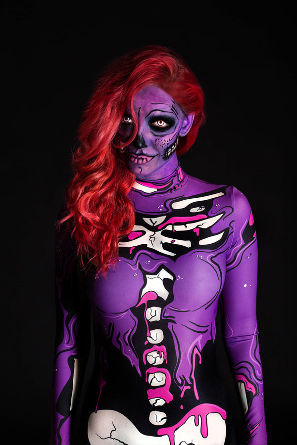 Purple Pop Art Costume