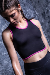 BLACK ACTIVE TOP Active Top >> BADINKA