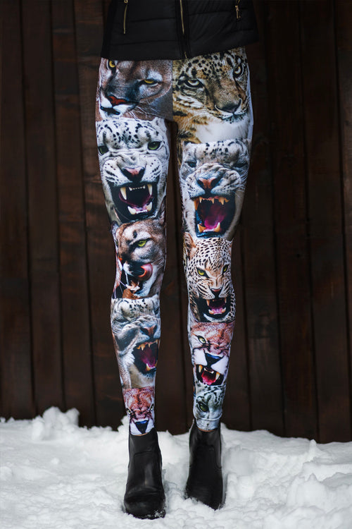 FRIENDLY KITTIES WARM LEGGINGS