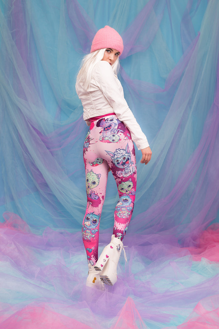 HAPPY MEAL WARM LEGGINGS Winter Leggings >> BADINKA